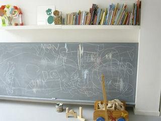 Chalkboard area via kidslovedesing