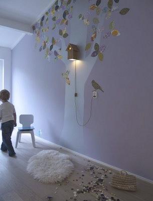 Birdhouse light and tree copy