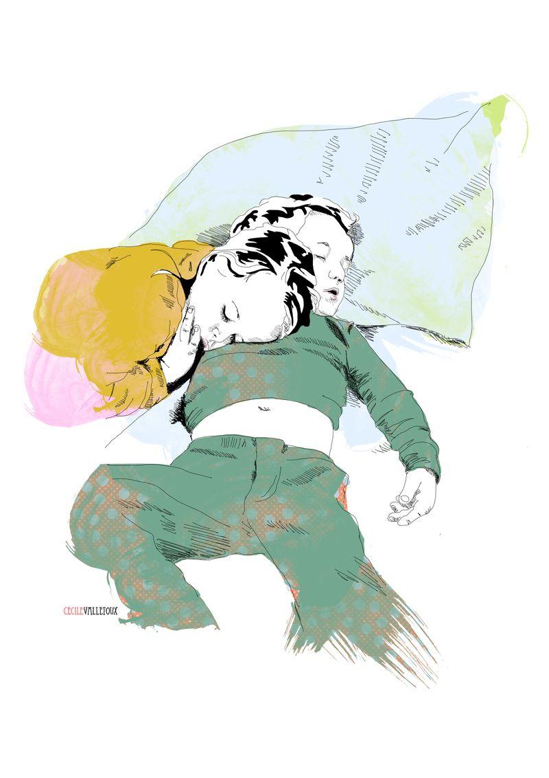 CharleyStar_Ocean and Satine Sleeping_LaBeletteRose